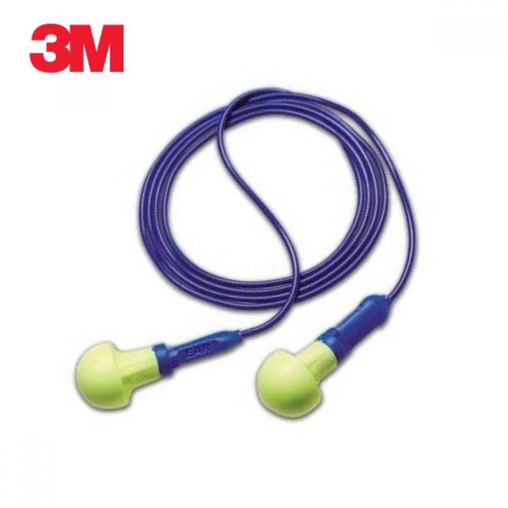 3M 귀 삽입형 귀마개 Push-Ins 끈이 달린 5개 묶음 [제작 대량 도매 로고 인쇄 레이저 마킹 각인 나염 실크 uv 포장 공장 문의는 네이뽕]