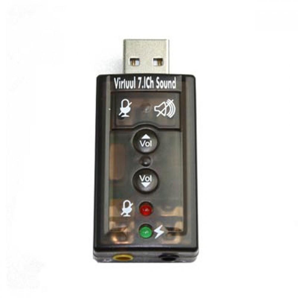 USB 7.1채널 사운드 카드 컨버터