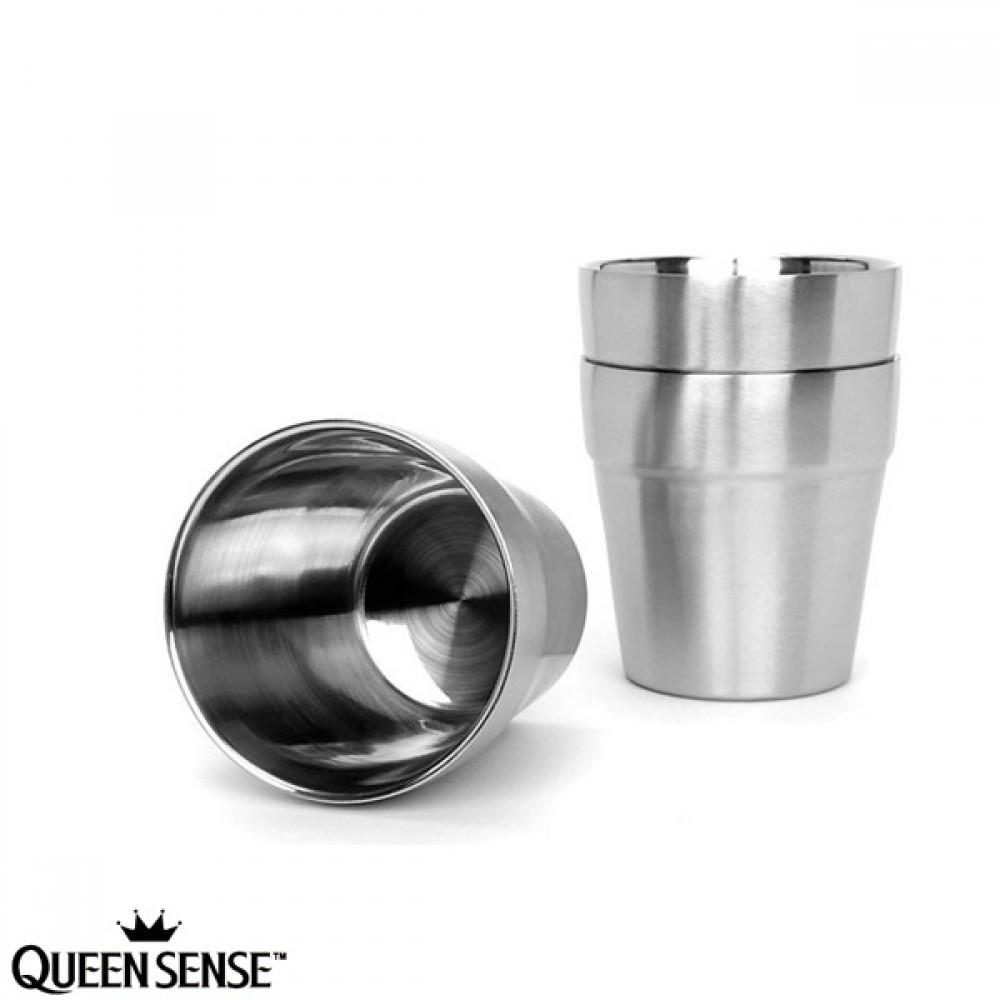 퀸센스 스테인레스 이중 진공물컵 1P(180705단종)