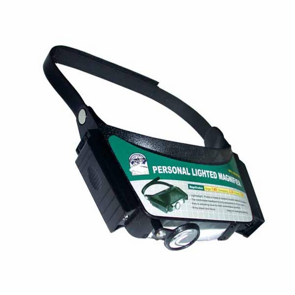 프로킷 휴대용 확대경 조명식 헤드형 [제작 대량 도매 로고 인쇄 레이저 마킹 각인 나염 실크 uv 포장 공장 문의는 네이뽕]