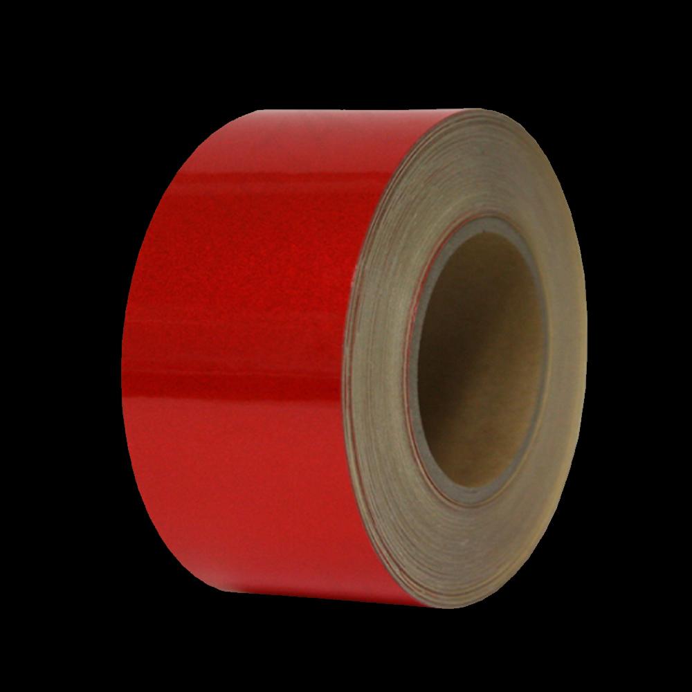 안전 반사 테이프 100mm x 45M 적색 [제작 대량 도매 로고 인쇄 레이저 마킹 각인 나염 실크 uv 포장 공장 문의는 네이뽕]