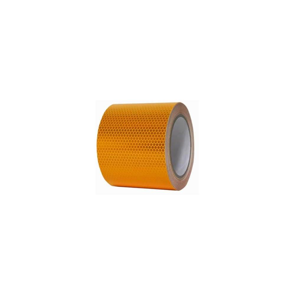 고휘도 벌집무늬 반사 테이프 150mm x 10M 황색 [제작 대량 도매 로고 인쇄 레이저 마킹 각인 나염 실크 uv 포장 공장 문의는 네이뽕]