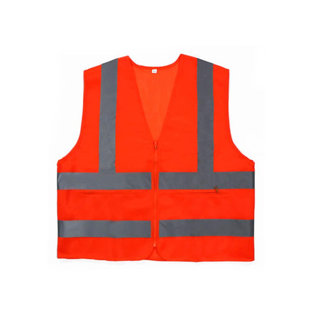 신호수조끼 MR-303-5 안전조끼 천 오렌지 회색띠 XXL [제작 대량 도매 로고 인쇄 레이저 마킹 각인 나염 실크 uv 포장 공장 문의는 네이뽕]