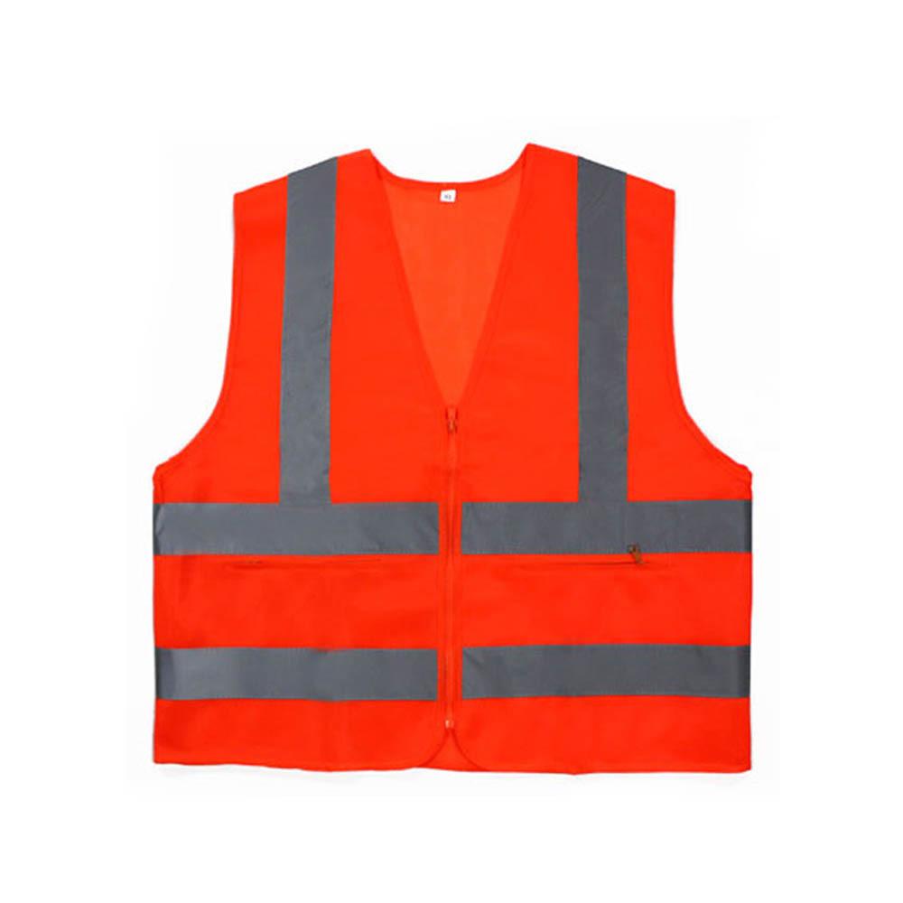 신호수조끼 MR-303-5 안전조끼 천 오렌지 회색띠 XXXL [제작 대량 도매 로고 인쇄 레이저 마킹 각인 나염 실크 uv 포장 공장 문의는 네이뽕]