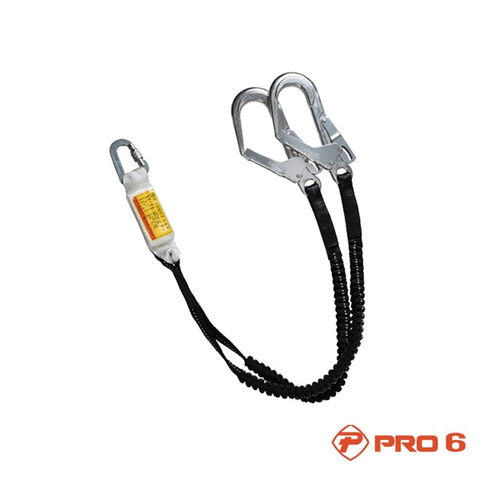 프로식스 PRO6 AL 대구경 더블엘라죔줄 적훅 안전벨트 [제작 대량 도매 로고 인쇄 레이저 마킹 각인 나염 실크 uv 포장 공장 문의는 네이뽕]