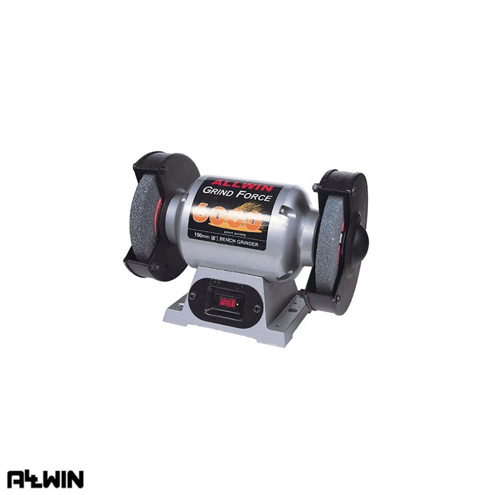 올윈 전동 탁상 그라인더 AGF-6000 150mm [제작 대량 도매 로고 인쇄 레이저 마킹 각인 나염 실크 uv 포장 공장 문의는 네이뽕]