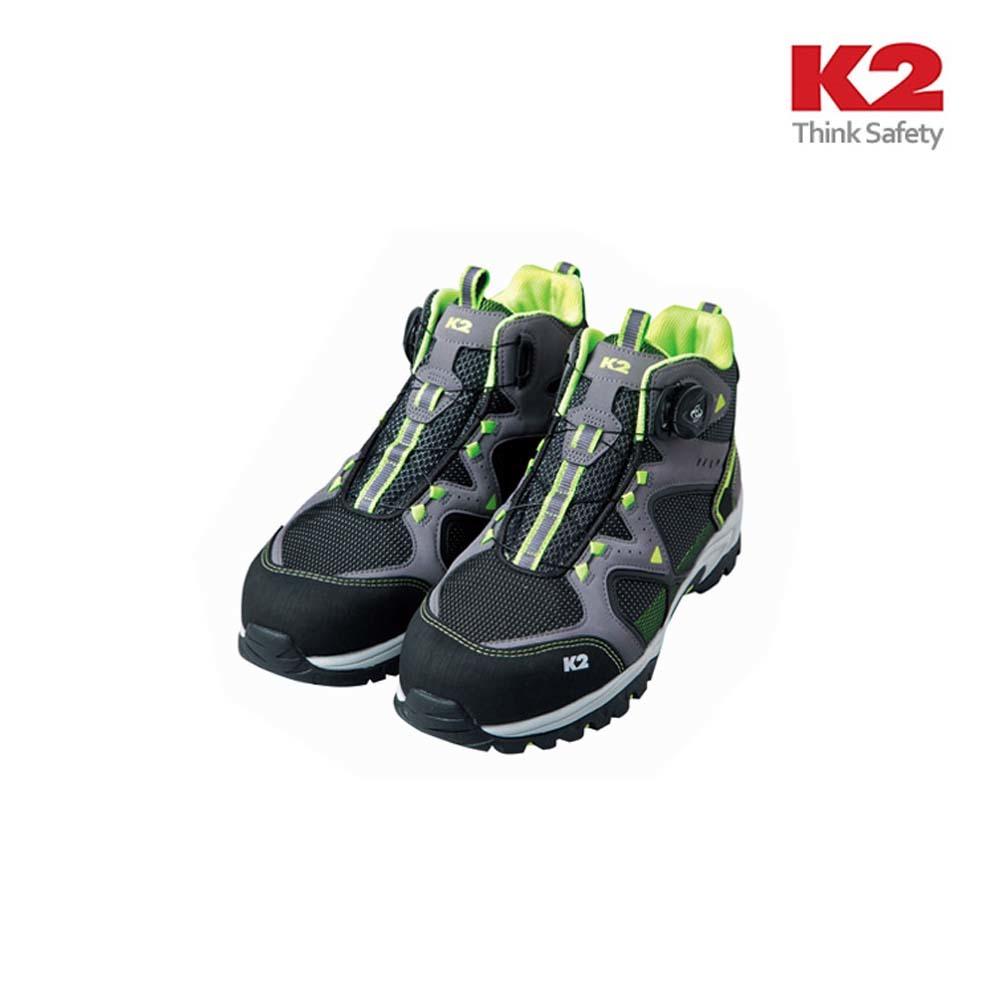 K2 K2-62 다이얼 보아시스템 안전화 [제작 대량 도매 로고 인쇄 레이저 마킹 각인 나염 실크 uv 포장 공장 문의는 네이뽕]