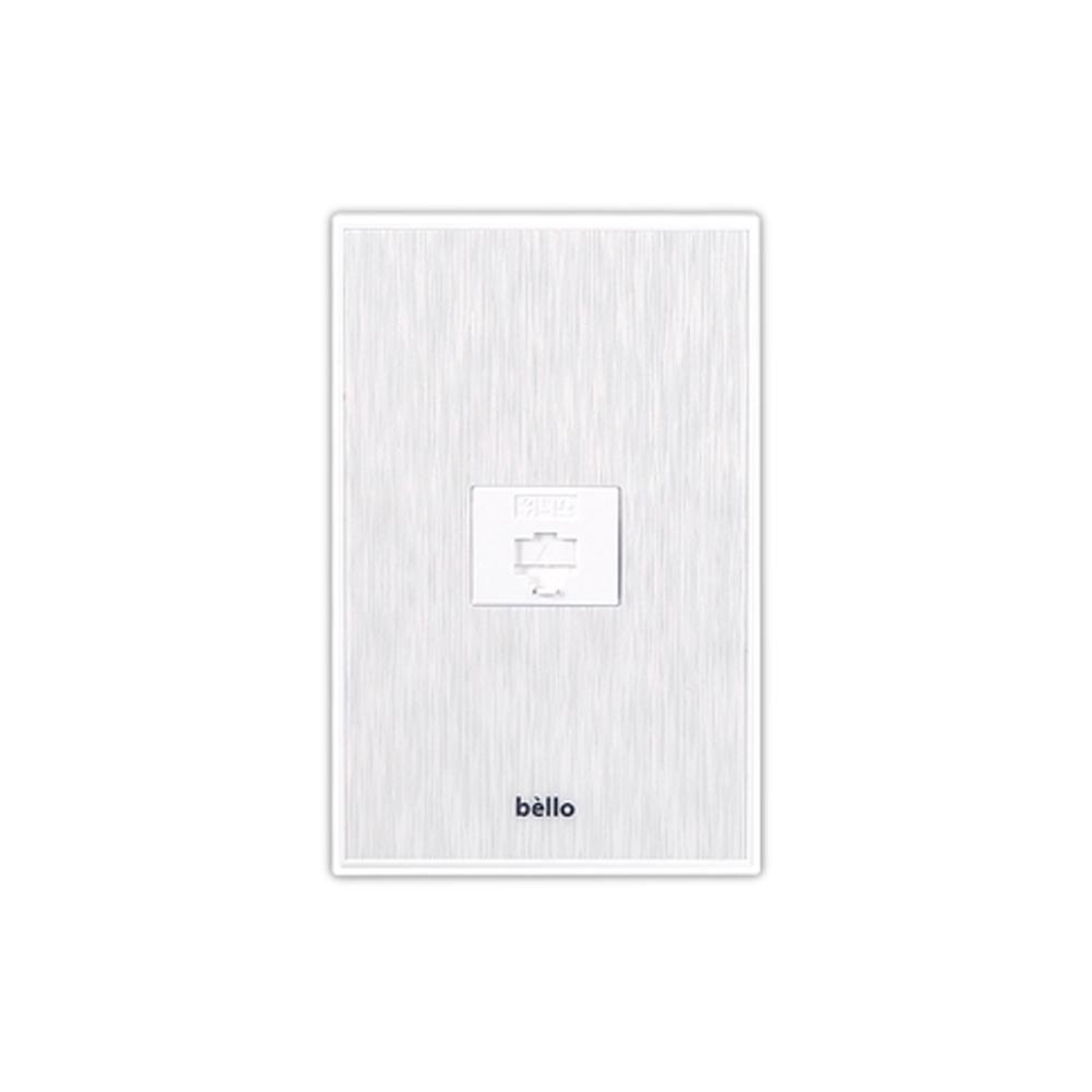 벨로 8P 화이트 8구전화콘센트 전화선연결 전화 [제작 대량 도매 로고 인쇄 레이저 마킹 각인 나염 실크 uv 포장 공장 문의는 네이뽕]