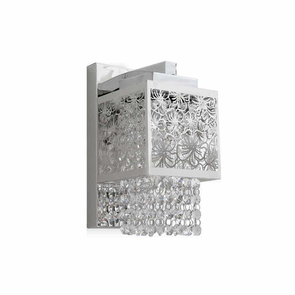 크롬사각 벽등 등기구 촛대구 포함 [제작 대량 도매 로고 인쇄 레이저 마킹 각인 나염 실크 uv 포장 공장 문의는 네이뽕]