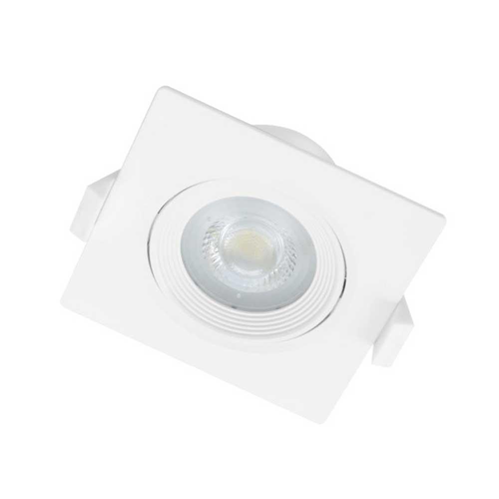 75mm LED 사각일체형 7W 주광색 전구색 [제작 대량 도매 로고 인쇄 레이저 마킹 각인 나염 실크 uv 포장 공장 문의는 네이뽕]