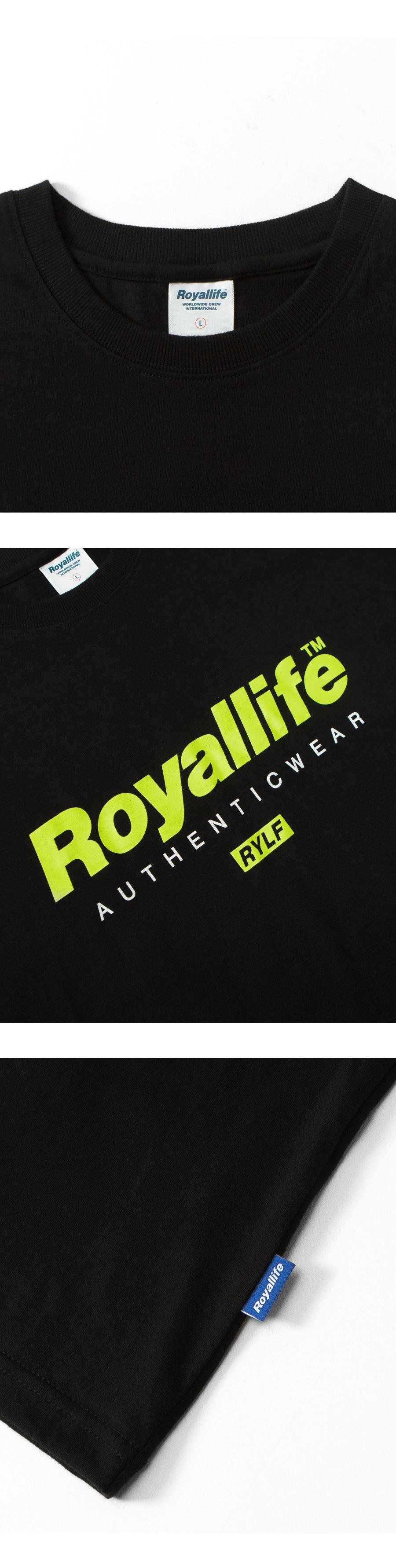 로얄라이프(ROYALLIFE) RL700 어센틱웨어 반팔 - 블랙