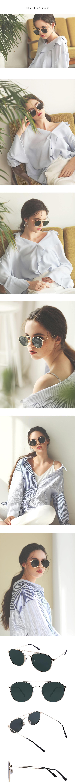 리에티(RIETI) SACRO RT C4013 C4 패션선글라스 편광렌즈(카키)