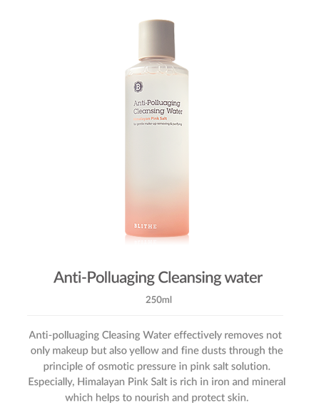Special Care:Anti-polluaging Cleansing Water