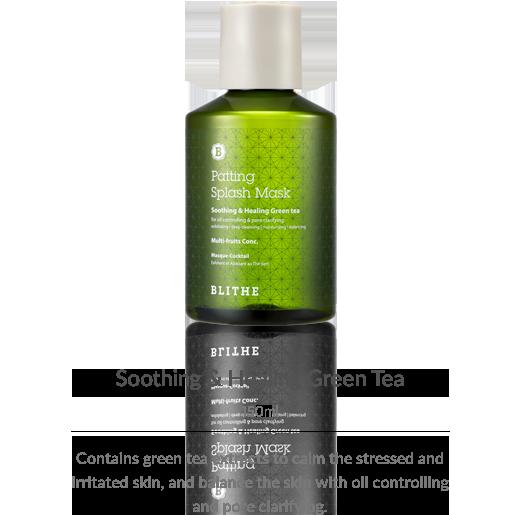 Patting Splash Mask:Healing Green Tea