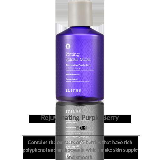 Patting Splash Mask:Rejubenating Purple Berry