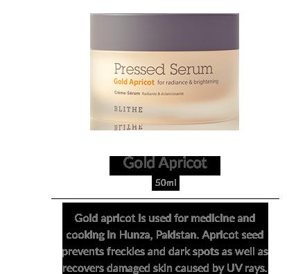 Pressed Serum:Gold Apricot