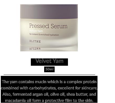Pressed Serum:Velvet Yam