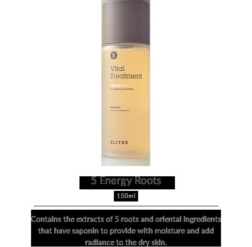 Vital Treatment:5 Energy Roots