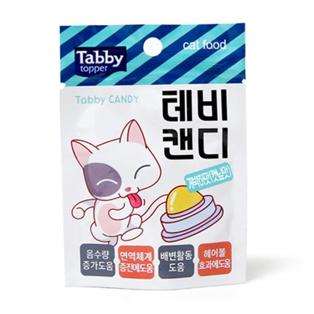 고양이 테비캔디 수분보충 캣닢맛 간식 추천
