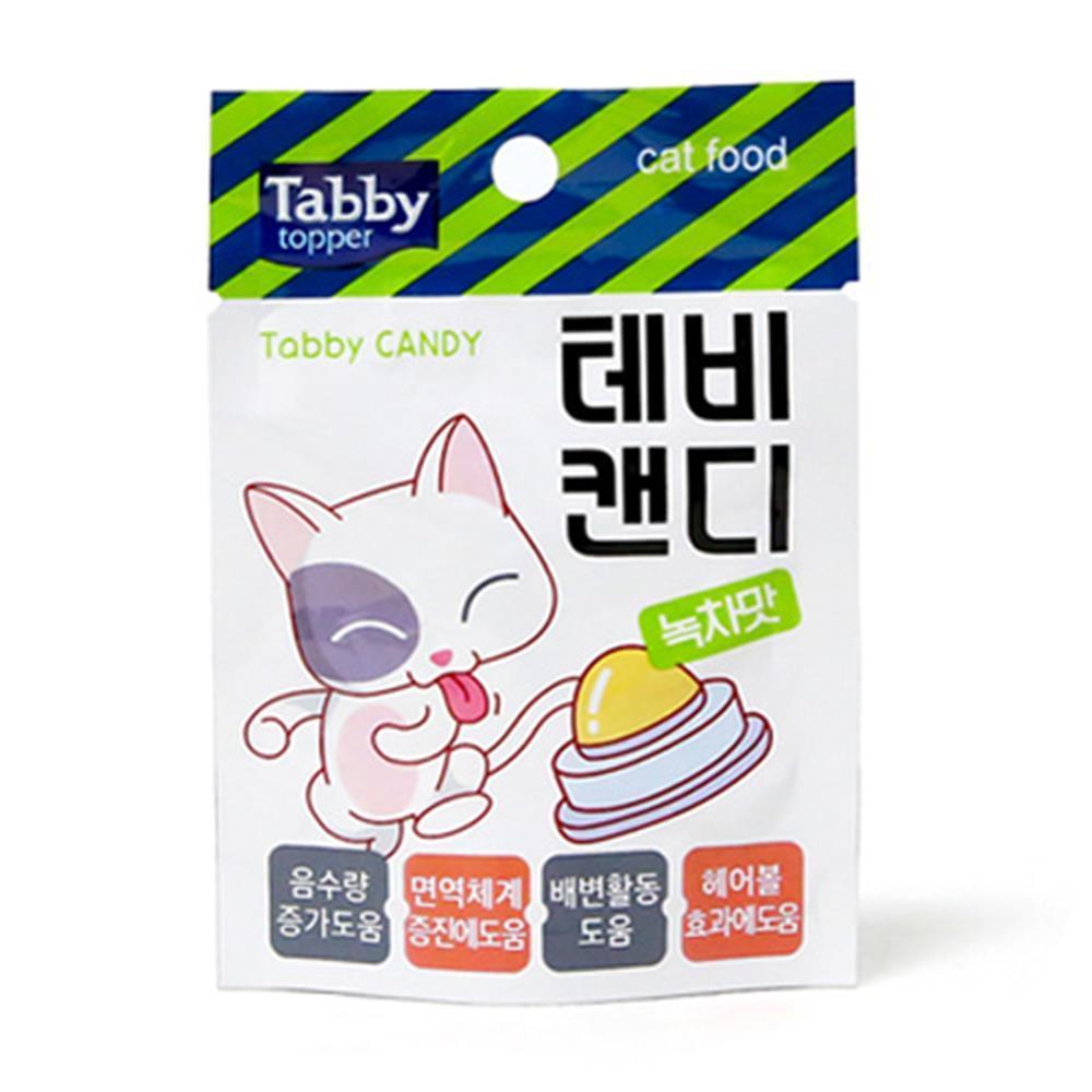 고양이 간식 녹차맛 테비캔디