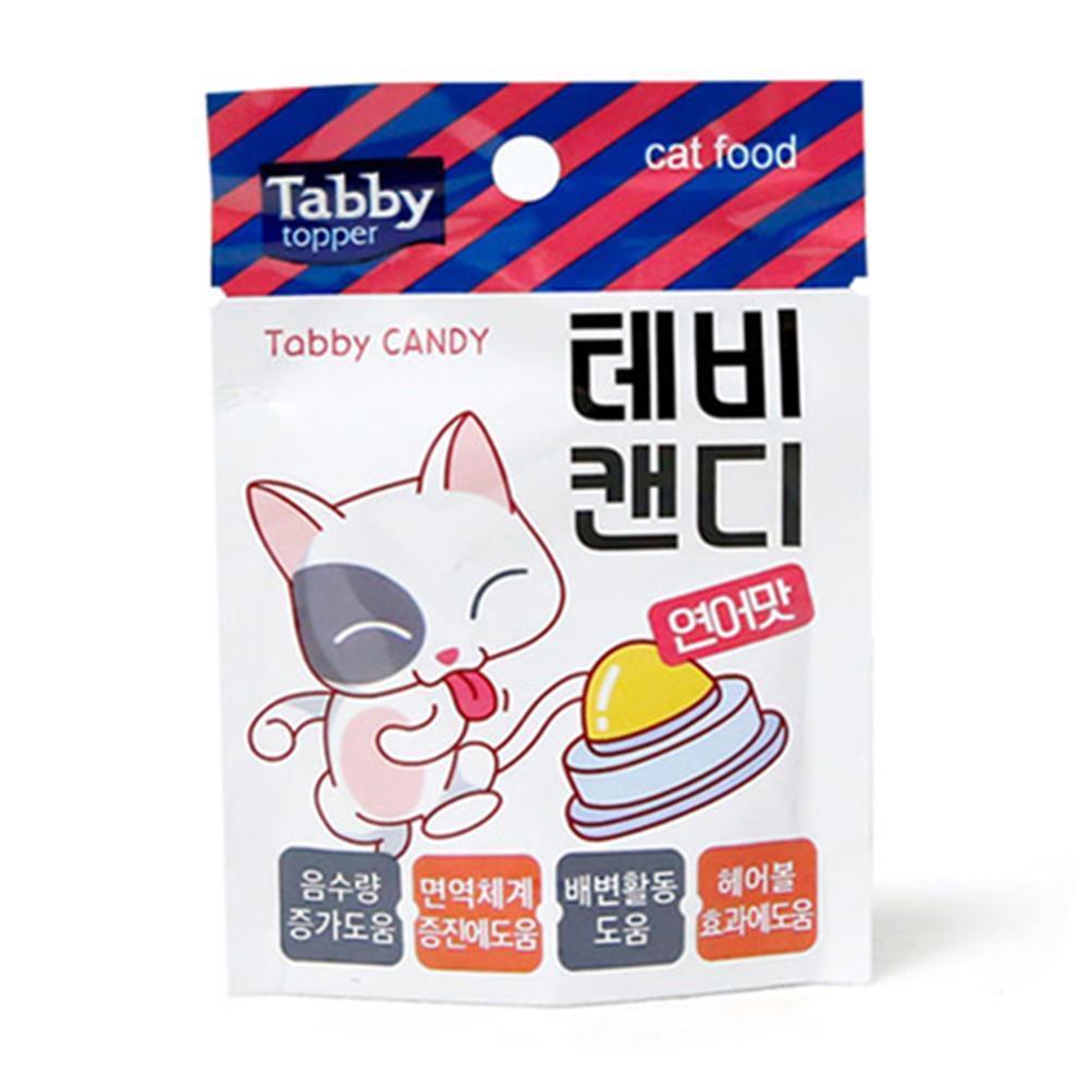 테비캔디 고양이간식 수분보충 연어 간식