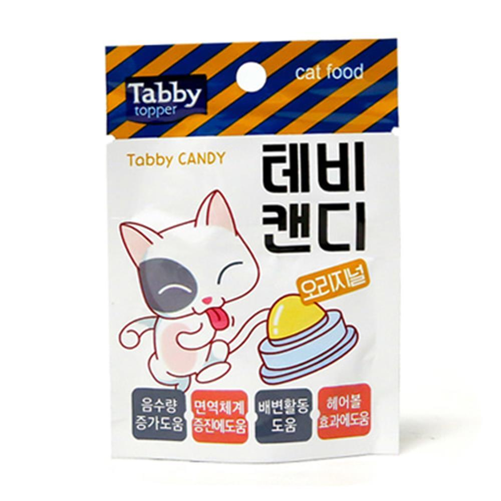 고양이 테비캔디 수분보충 배변활동도움 간식