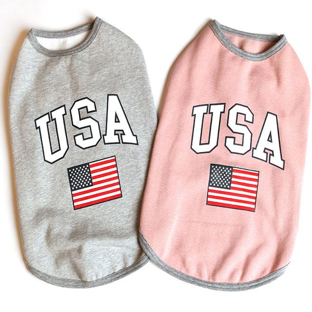 USA 기모 티셔츠