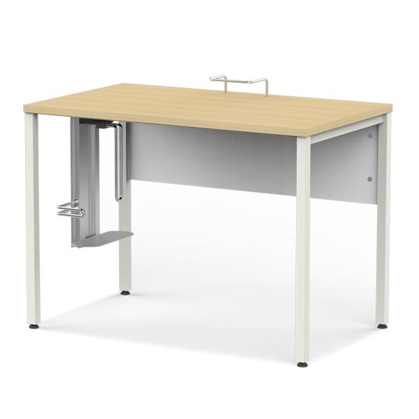 [심플즈 화이트] 1인용 컴퓨터 책상 (NO.97)