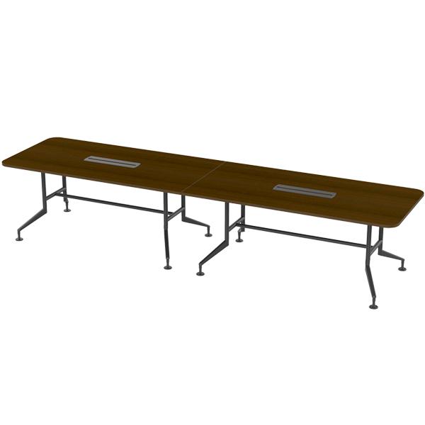 [심플즈] 컨포인 대형 테이블 블랙 프레임 (NO.104)