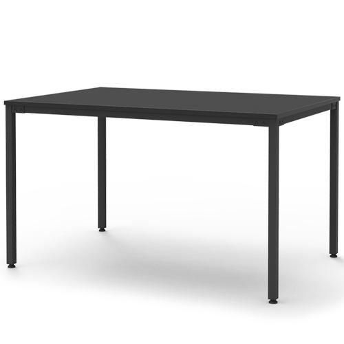 [심플즈] 레스토 테이블 1200/1500 블랙 프레임 (NO.57)