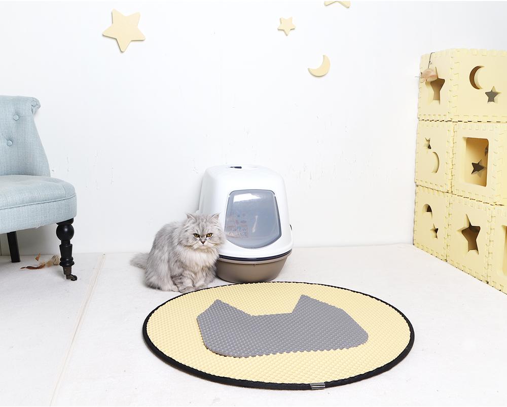 스타캣 라운드 고양이 모래매트 고양이모양-연노랑25,900원-스타캣펫샵, 고양이용품, 화장실/위생용품, 화장실 매트바보사랑스타캣 라운드 고양이 모래매트 고양이모양-연노랑25,900원-스타캣펫샵, 고양이용품, 화장실/위생용품, 화장실 매트바보사랑