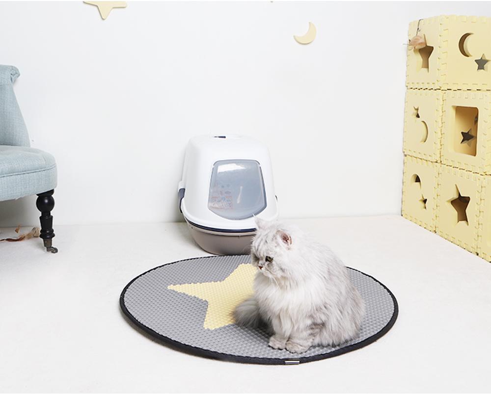 스타캣 라운드 고양이 모래매트 별모양-연회색25,900원-스타캣펫샵, 고양이용품, 화장실/위생용품, 화장실 매트바보사랑스타캣 라운드 고양이 모래매트 별모양-연회색25,900원-스타캣펫샵, 고양이용품, 화장실/위생용품, 화장실 매트바보사랑