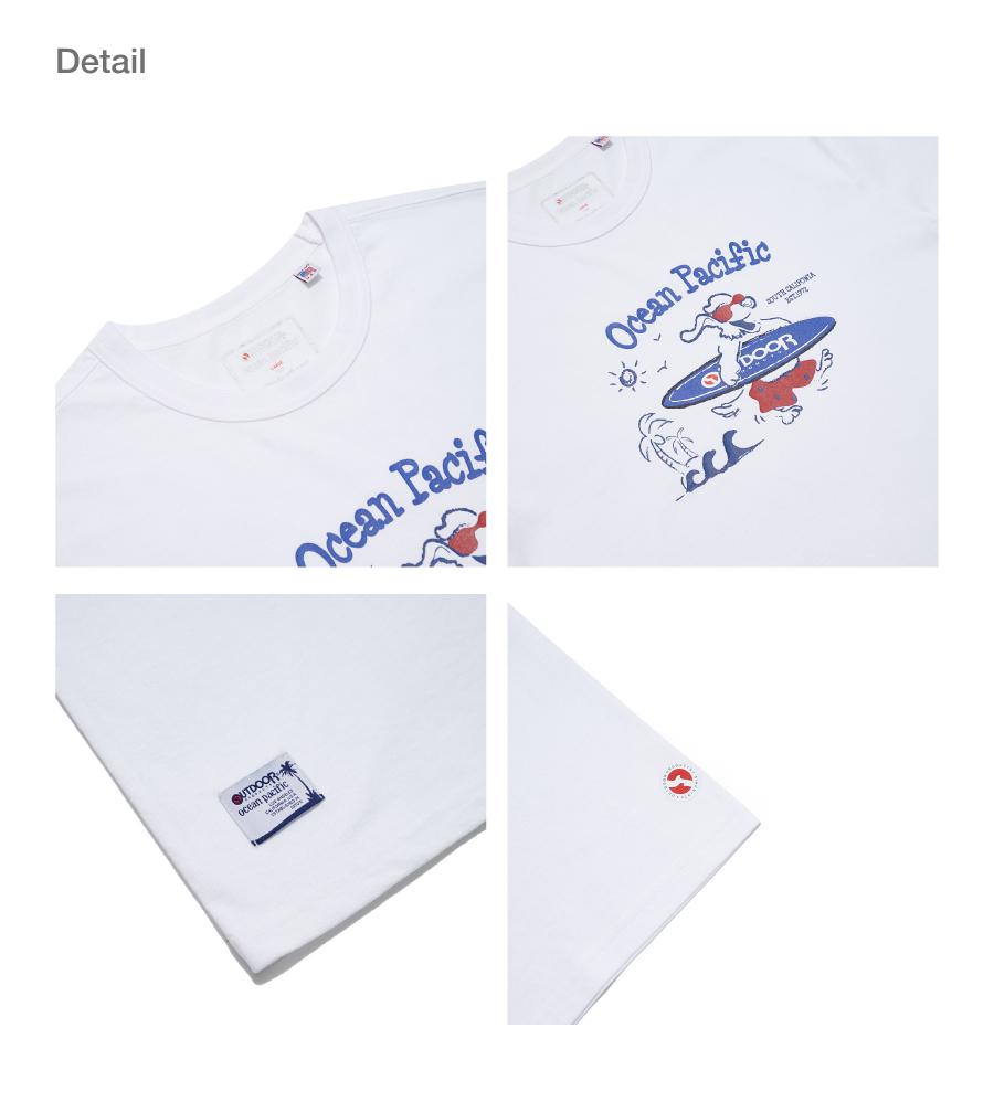 오션퍼시픽(OCEANPACIFIC) OP X ODP 그래픽 티셔츠 1 OP X ODP GRAPHIC TS 1