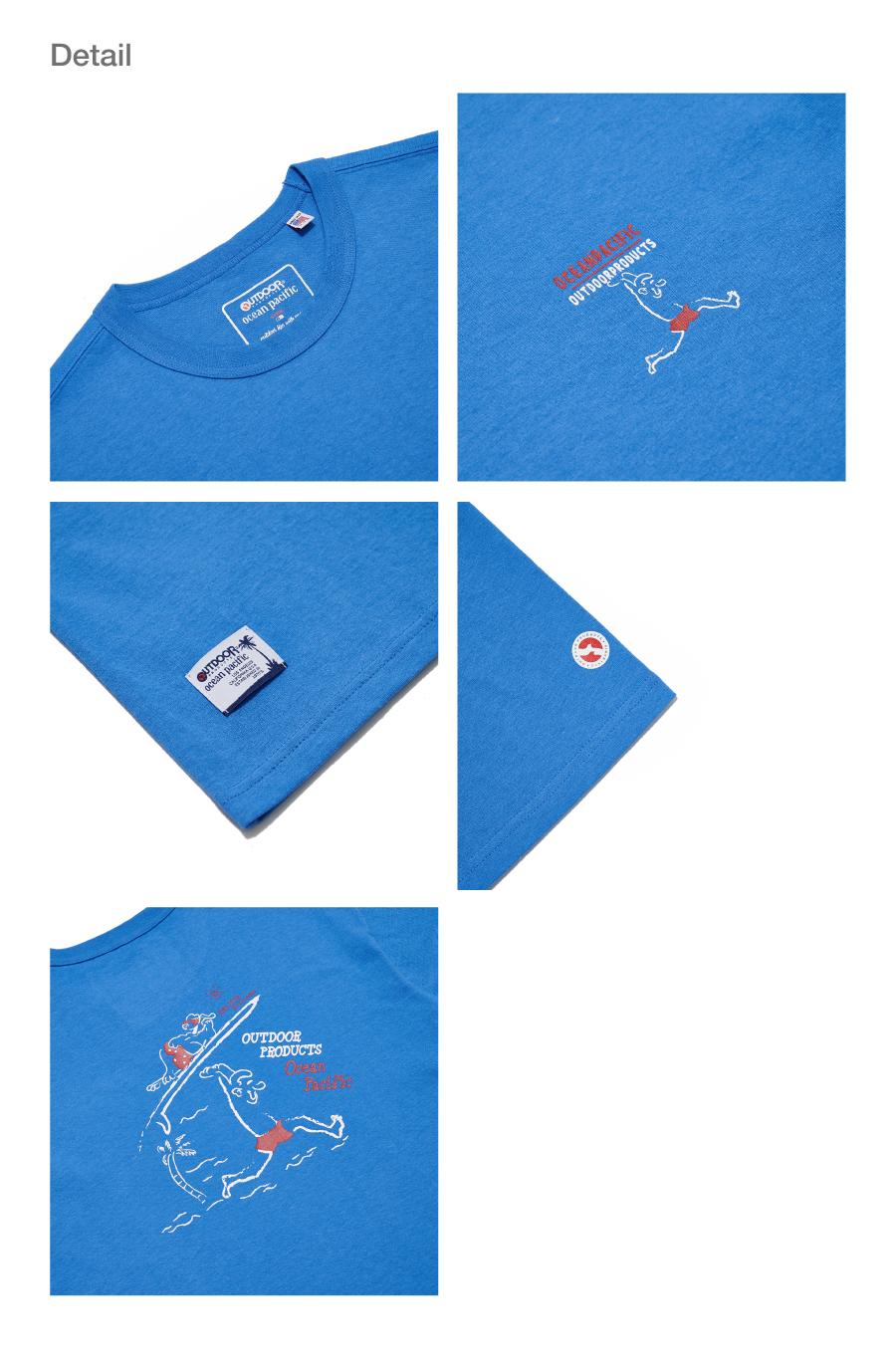 오션퍼시픽(OCEANPACIFIC) OP X ODP 그래픽 티셔츠 2 OP X ODP GRAPHIC TS 2