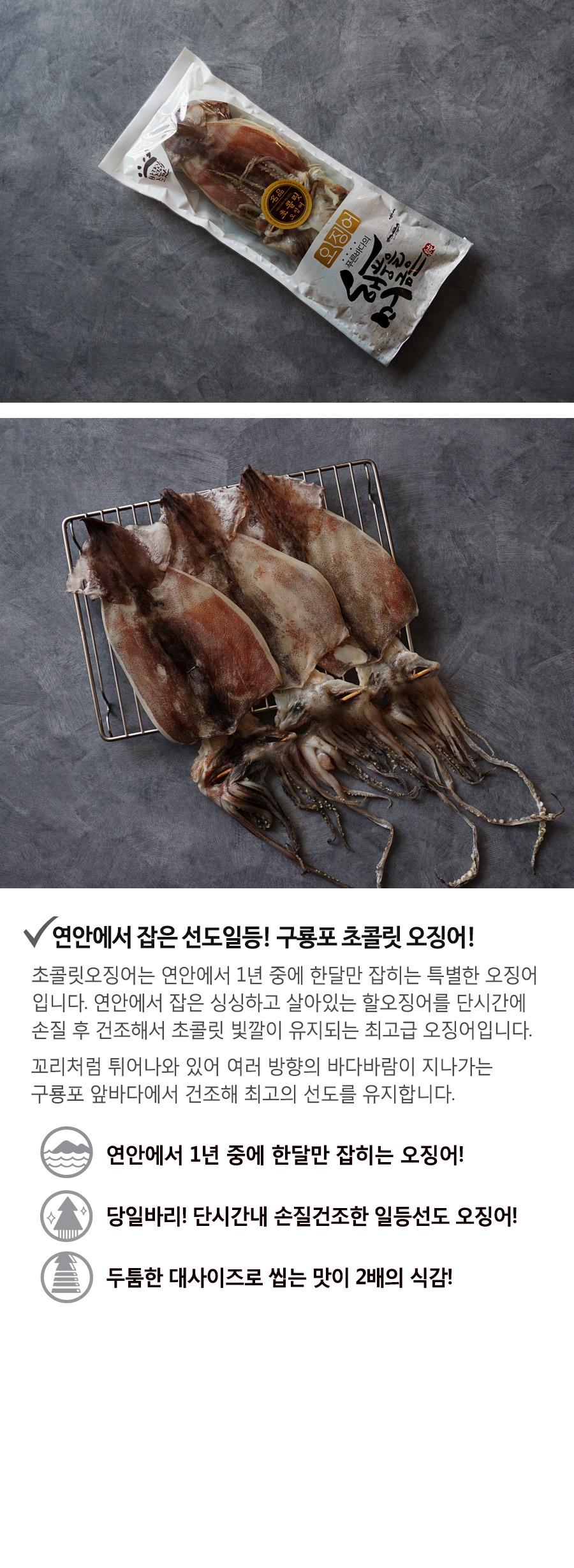 반건조 오징어