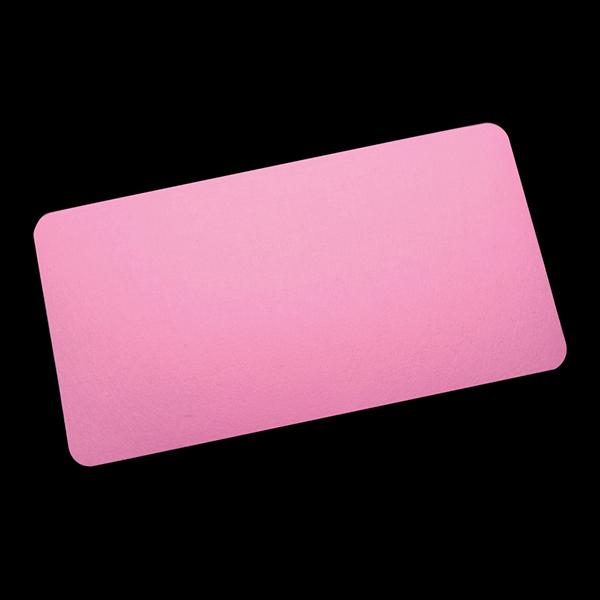 부직포 데스크패드 책상커버 책상부직포매트-핑크