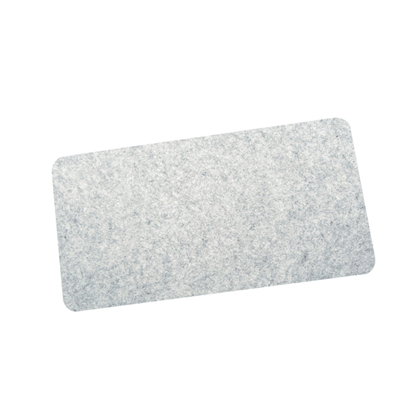 부직포 데스크패드 책상커버 책상부직포매트-회색