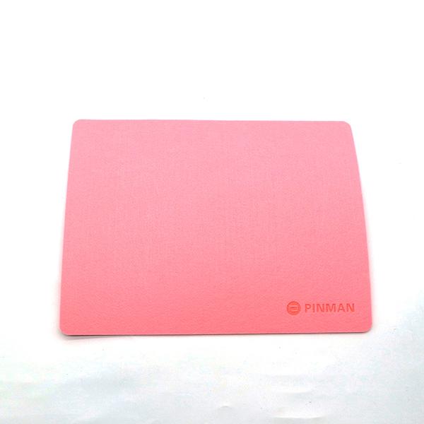 부직포 마우스패드 사무용품 마우스패드-핑크