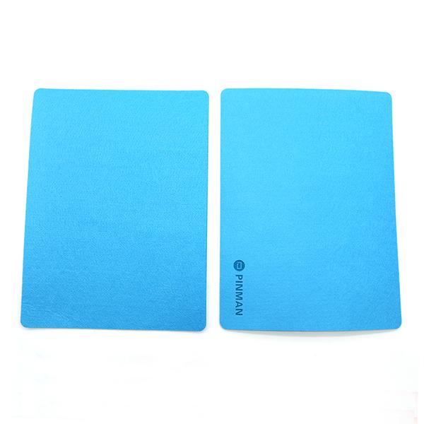 부직포 마우스패드 사무용품 마우스패드-블루 마