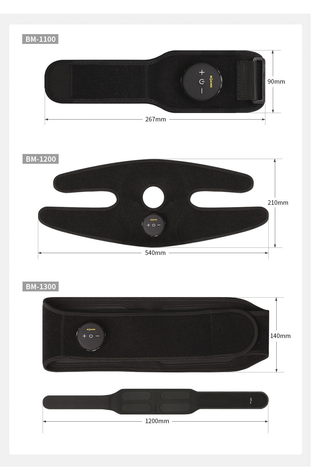 [브람스] 허리 보호대 EMS트레이닝 조인트가드 BM-1300 - 이로웰, 169,000원, 안마/교정, 부위안마기