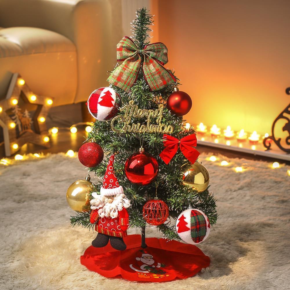 크리스마스 산타 트리 풀세트60cm 트리세트 작은트리