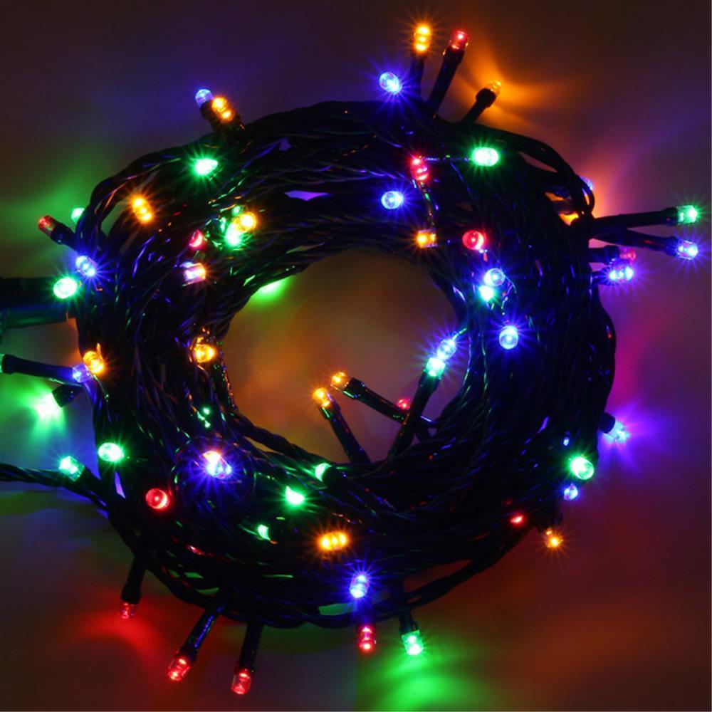 크리스마스 트리장식 칼라전구 LED 꼬마전구 눈꽃조명