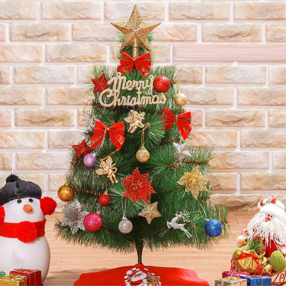 카페용 크리스마스 트리 풀세트 60cm 트리세트 성탄트리 크리마스트리 교회트리