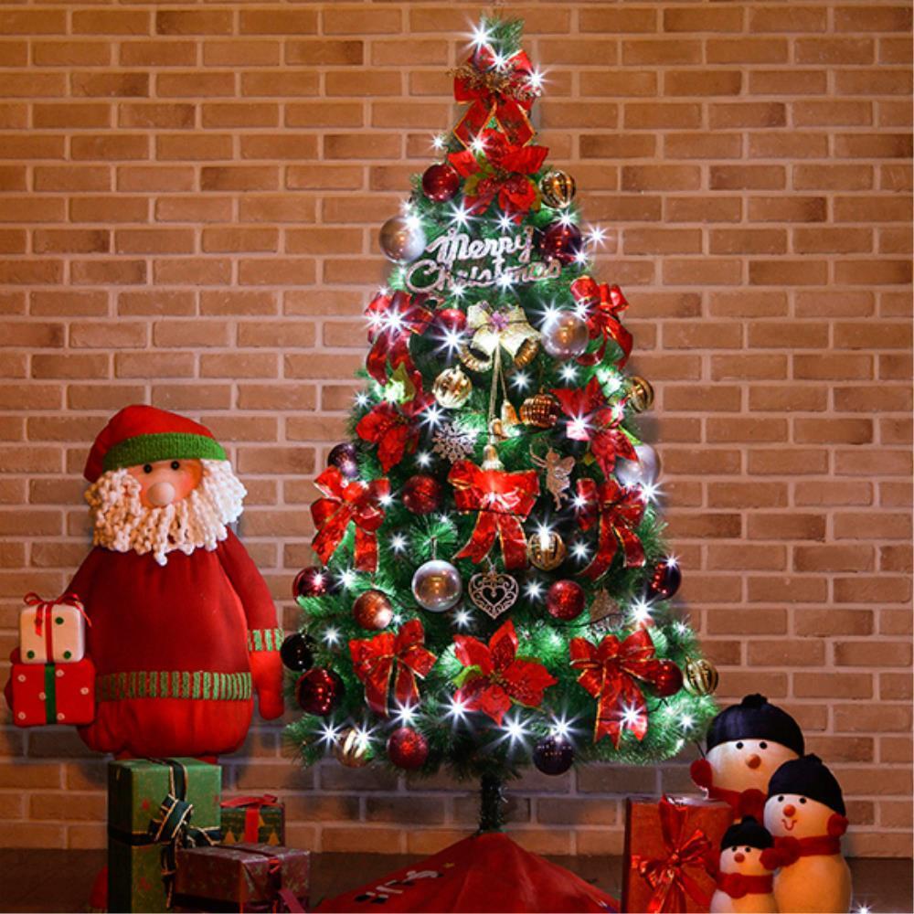 실버장식 크리스마스 트리세트 180cm 소망트리