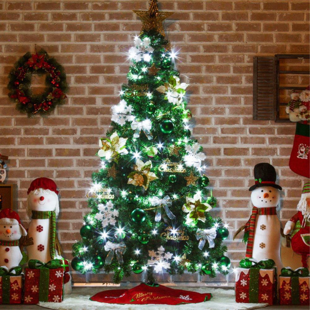 더좋아진 크리스마스 트리풀세트 210cm 고급트리 아파트크리스마스트리 대형트리