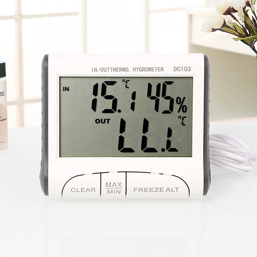 실내 온습도 이모티콘 표시 온습도계 온도측정기