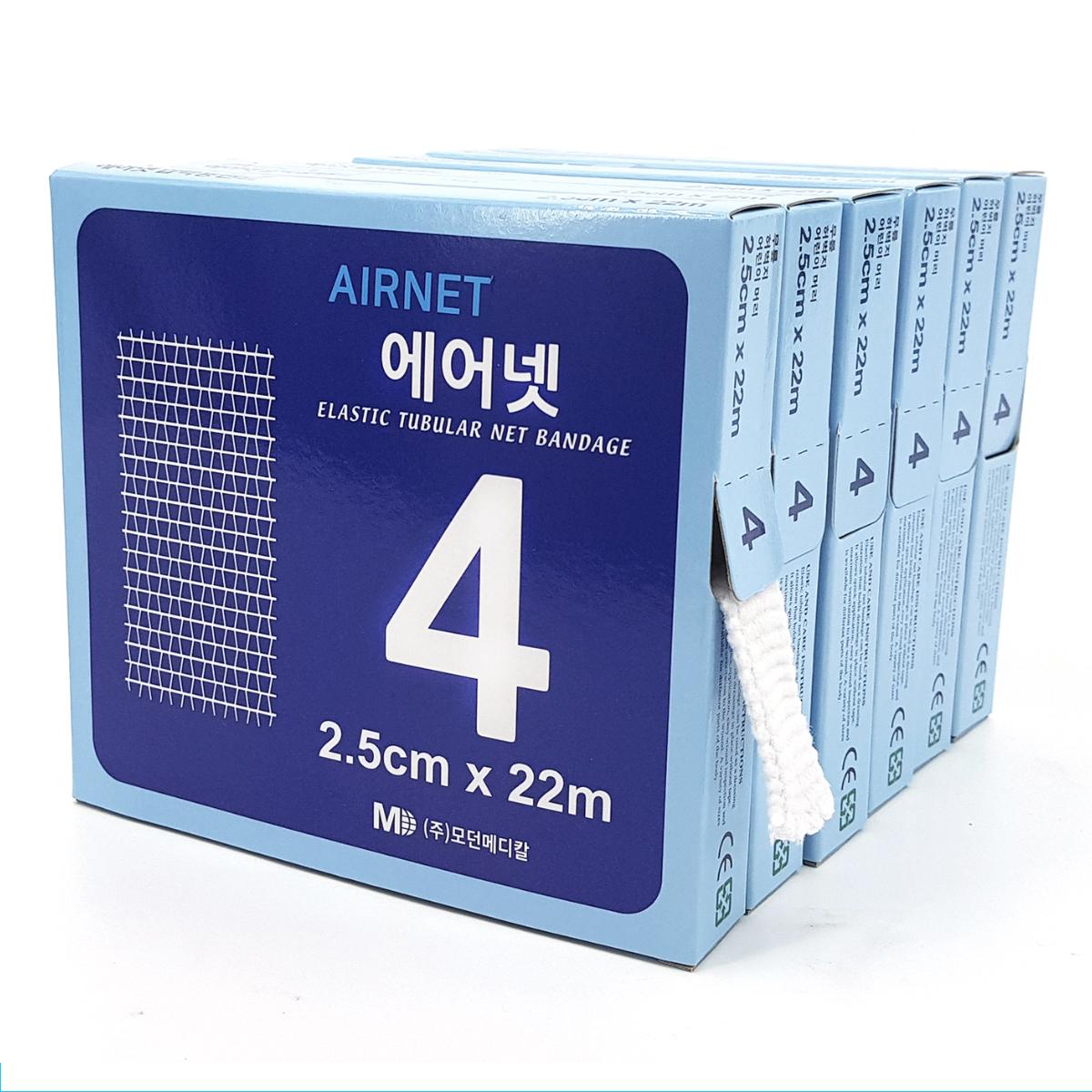 에어넷 4호 2.5cm x 22m 망붕대 AIRNET 24000