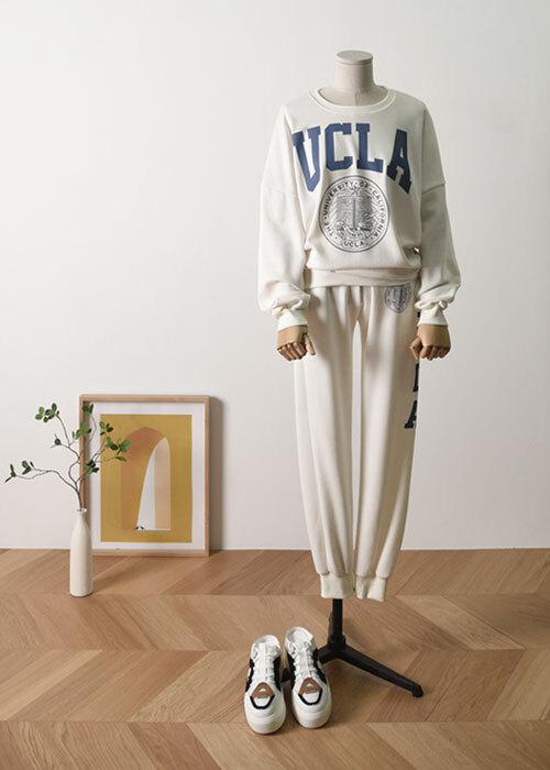UCLA 루즈핏 트레이닝 세트