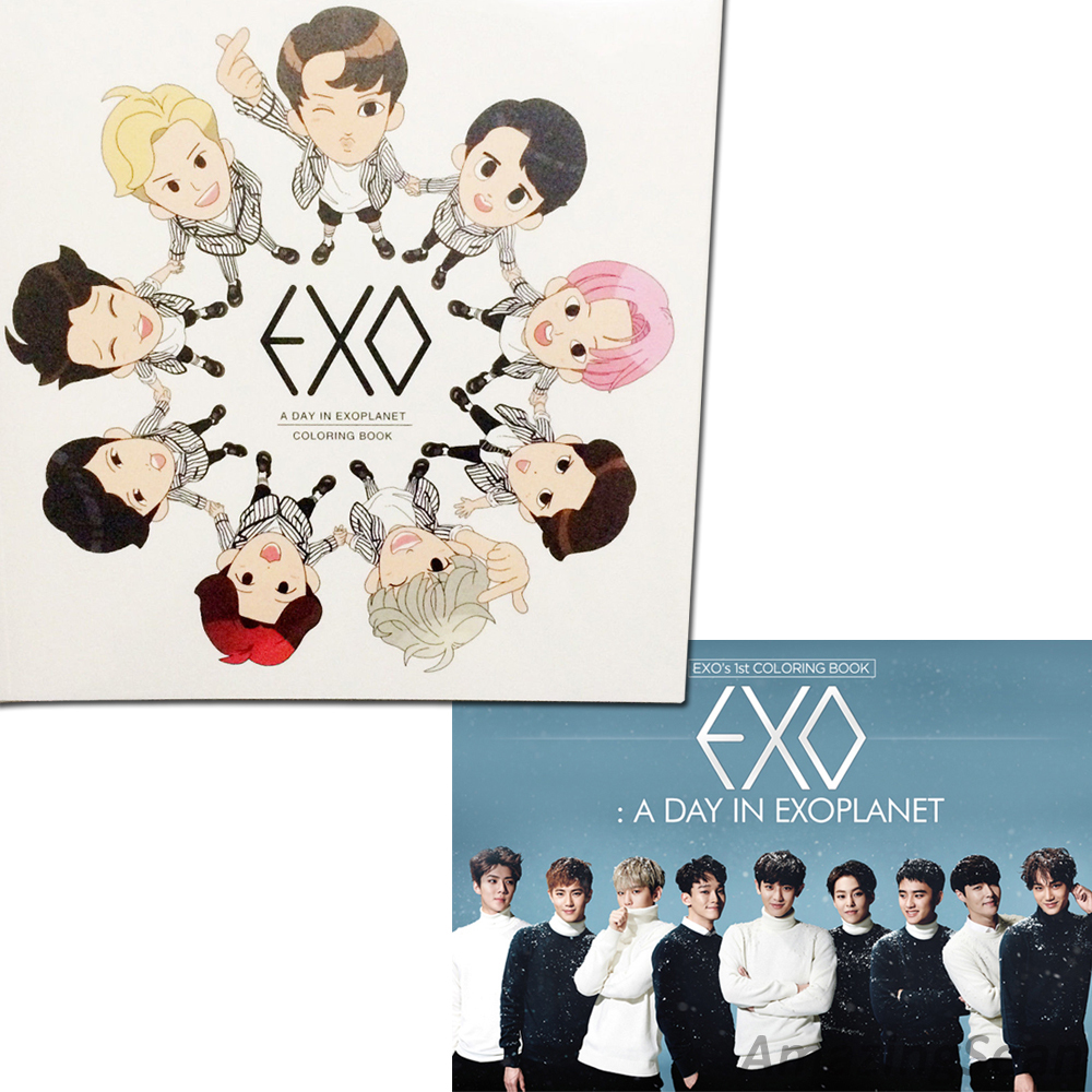 Title EXO Coloring Book