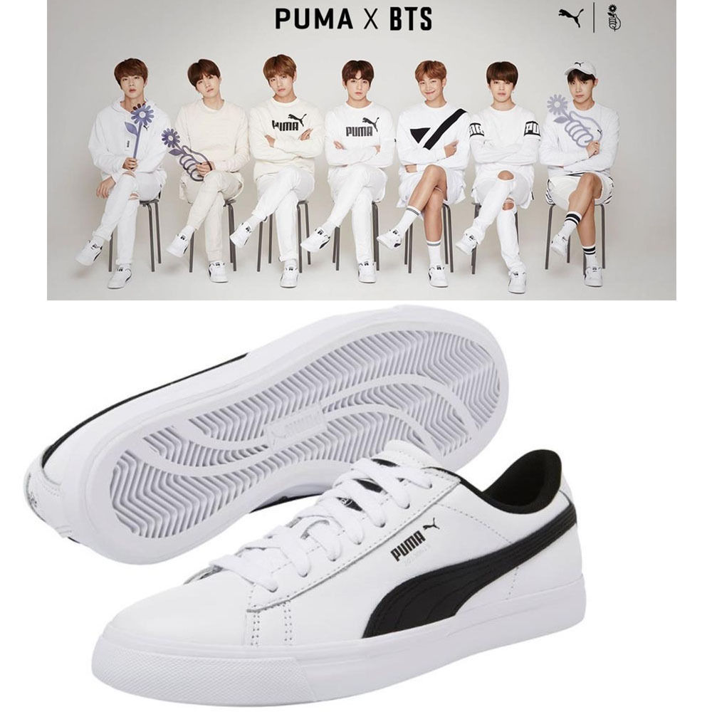 6fed47c0383b06 Details about BTS Official Goods - PUMA X BTS COURT STAR Shoes